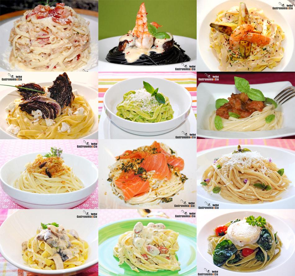 Doce recetas de espaguetis y tallarines for Espaguetis para dos