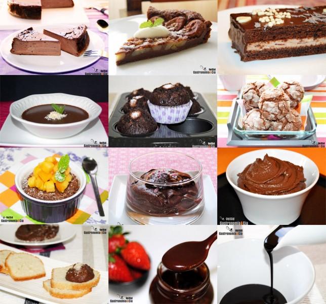 recetas de postres con cacao