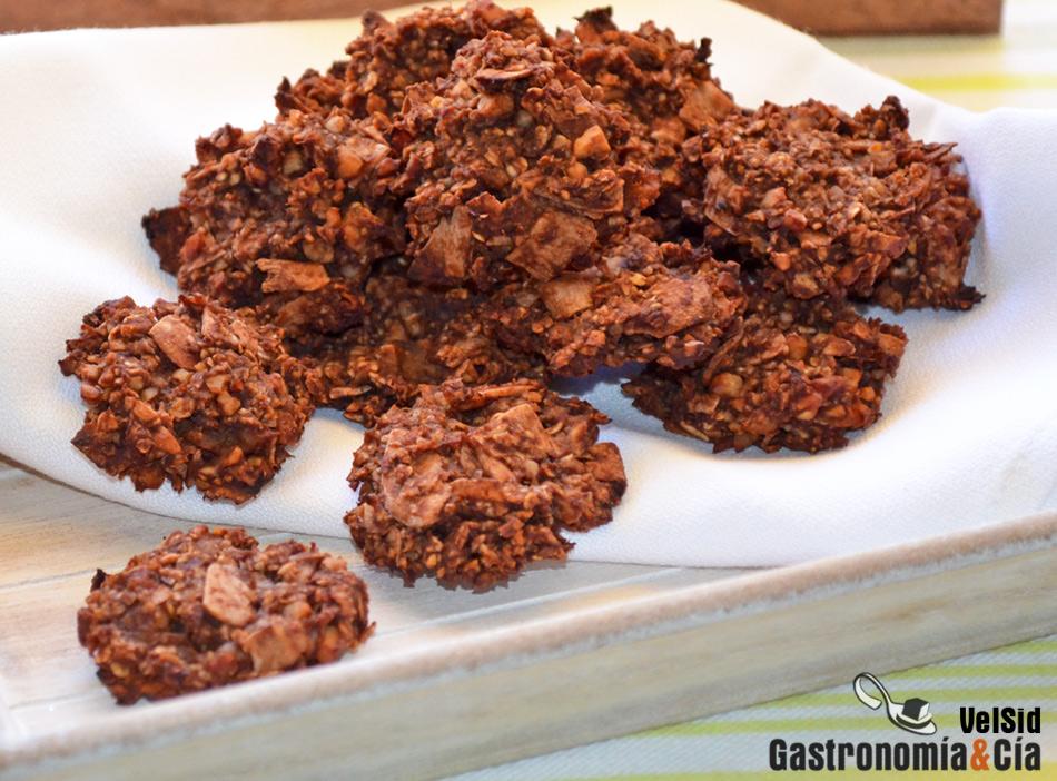 Galletas De Manzana Avena Y Chocolate Gastronomía Cía