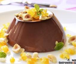 Panacota de chocolate