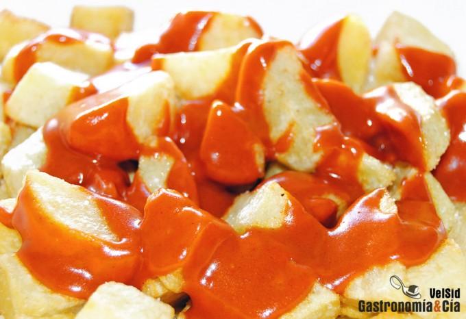 receta patatas a la brava