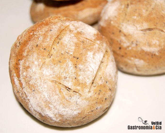 Pan de setas