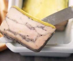 Terrina de foie gras mi-cuit