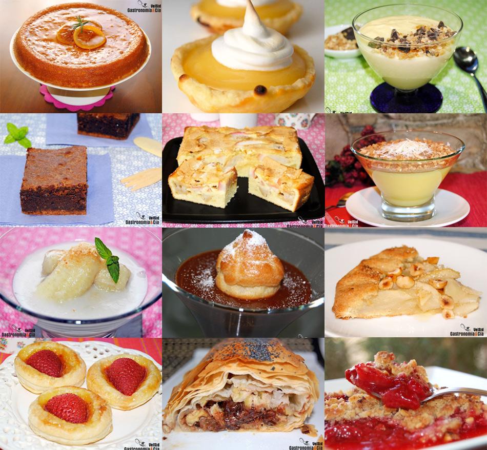 Doce recetas de postres sin leche gastronom a c a for La cocina de lechuza postres