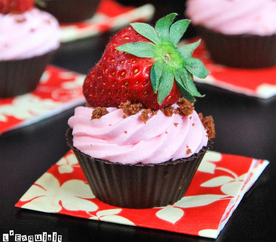 Hoy cocinas t cestos de chocolate con fresas y - Cocina y cia ...