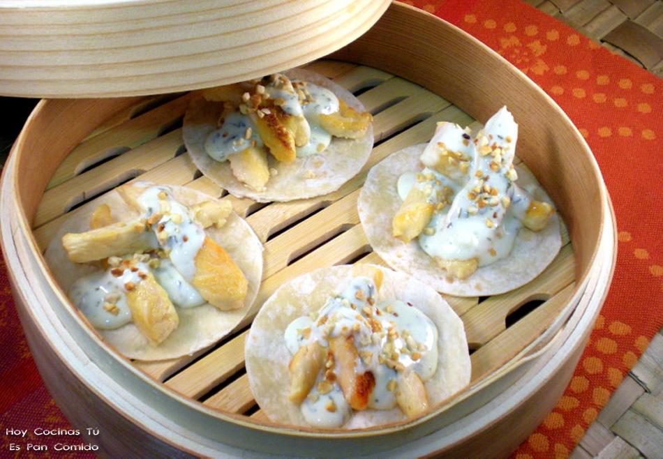 Hoy Cocinas Tú: Dobladitos de pollo con albahaca