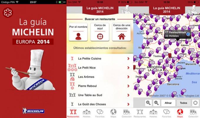 Guía Michelin Europa 2014