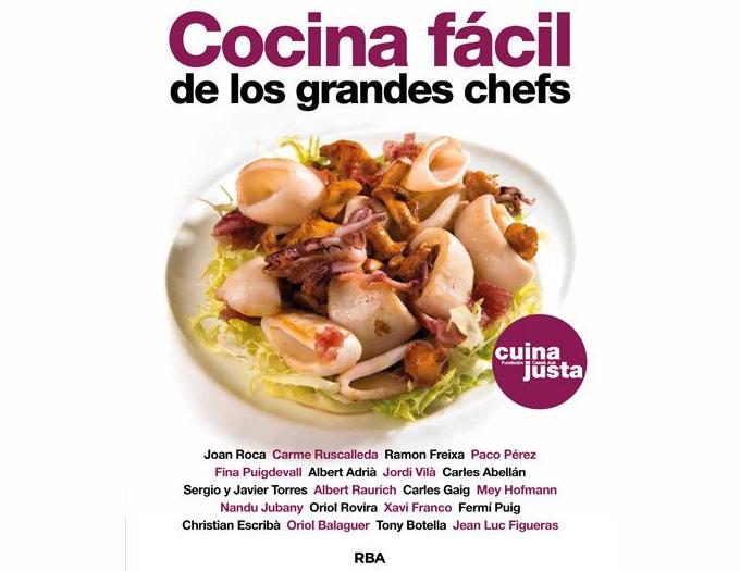 Cocina f cil de los grandes chefs libro gastronom a c a for Videos de cocina facil