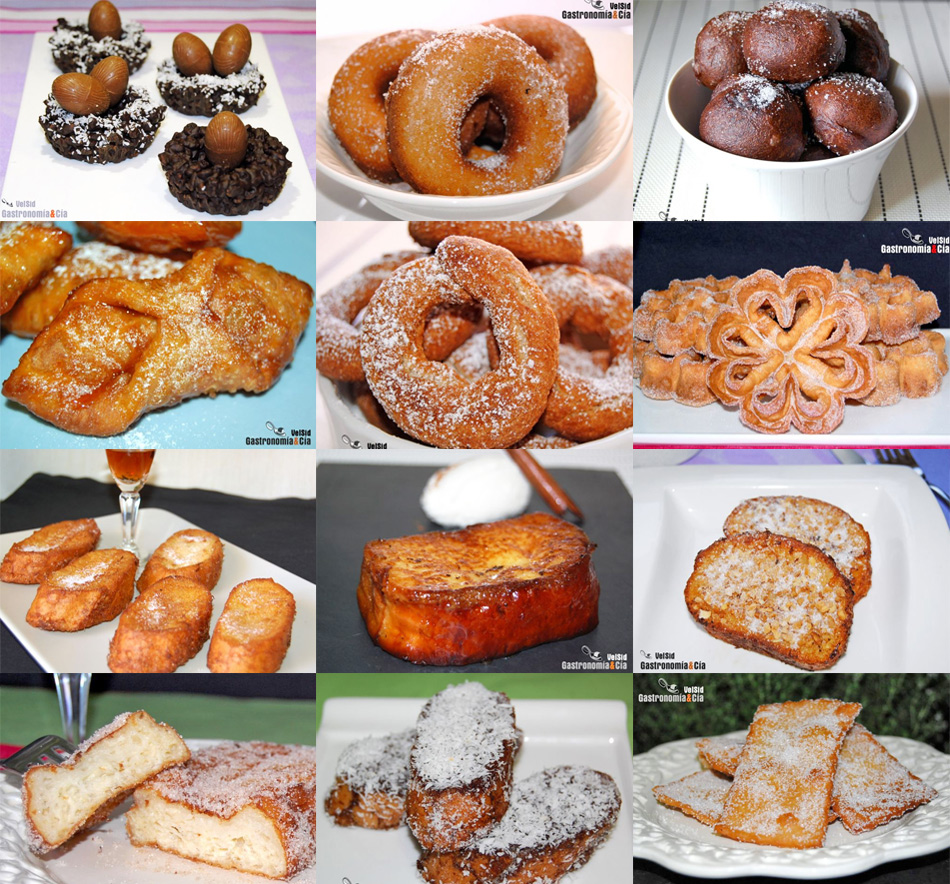 Doce recetas para semana santa recetas dulces for Comida semana santa