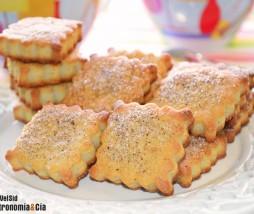 Galletas de queso hojaldradas