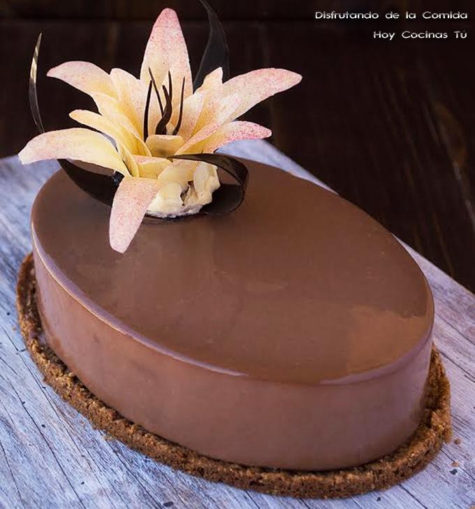 Como hacer tarta de mousse de chocolate