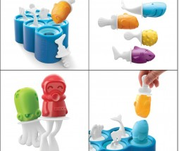 Fish pop mold Zoku