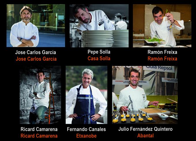Cocineros Premios Chef Millesime