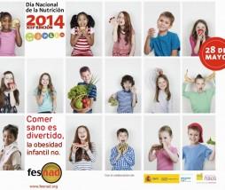 Comer sano es divertido, la obesidad infantil no
