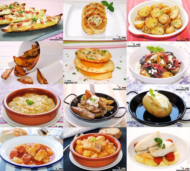 Doce recetas con patatas f ciles y sabrosas - Pure de patatas y calabaza ...