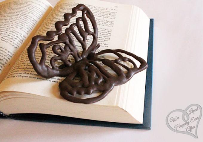 chocolate butterfly las mariposas que se suelen hacer con volumen para decorar