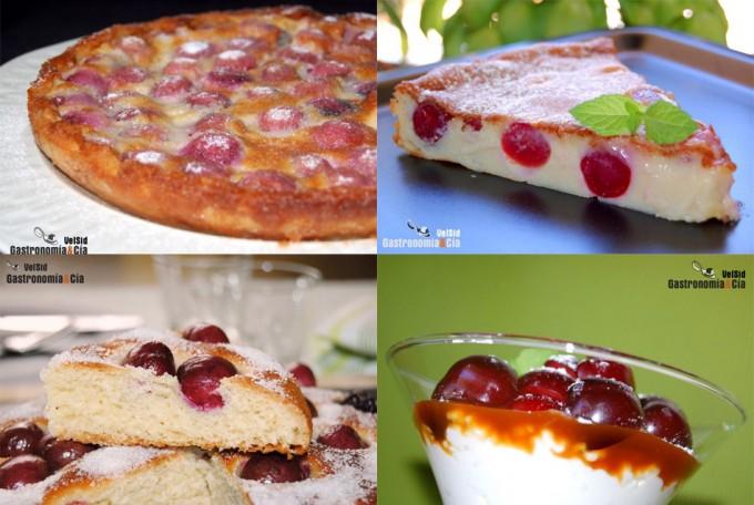 Recetas con cerezas para recibir la temporada