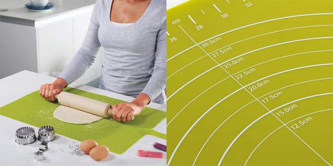 Roll up baking mat
