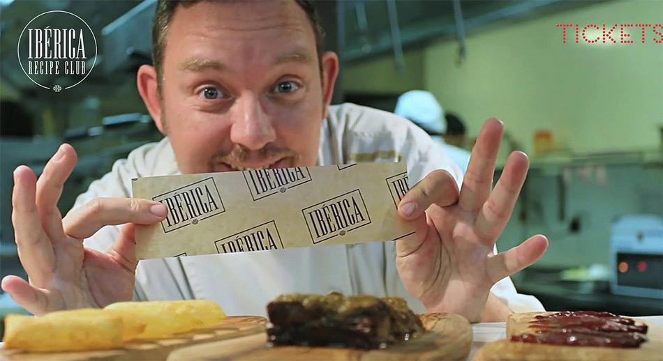 Costillas de cerdo en salmorejo de Albert Adrià. Vídeo receta