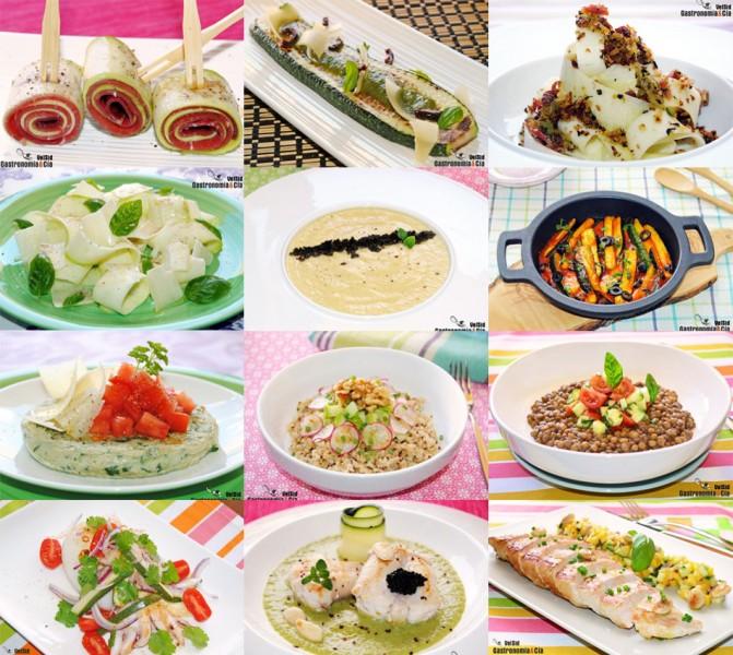 Doce Recetas Fáciles Con Calabacín Gastronomía Cía