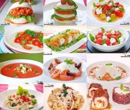 Recetas con mozzarella y tomate