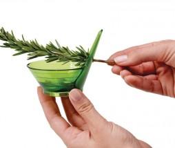 Deshojar hierbas aromáticas