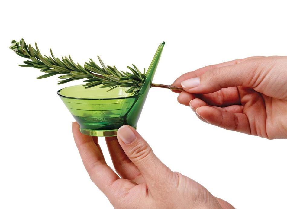 Zipstrip Herb Stripper para deshojar hierbas aromáticas