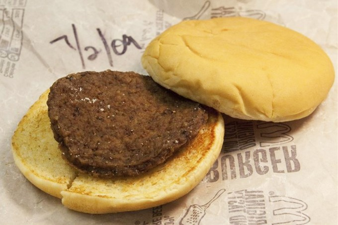 Resistencia de las hamburguesas McDonald's