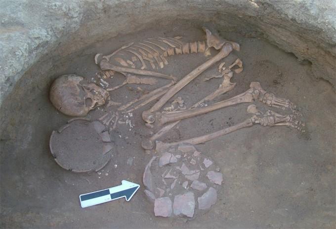 Restos arqueológicos de Sudán