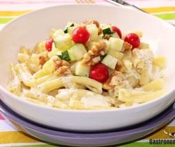 Receta de pasta con calabacín y parmesano