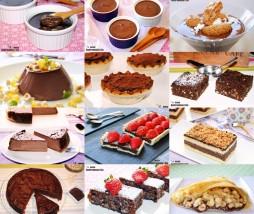 Recetas de postres de chocolate