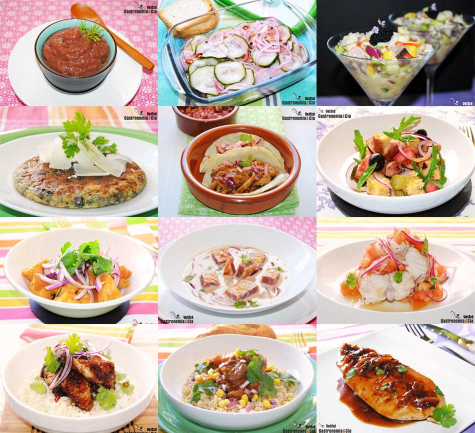 Doce recetas con cebolla morada