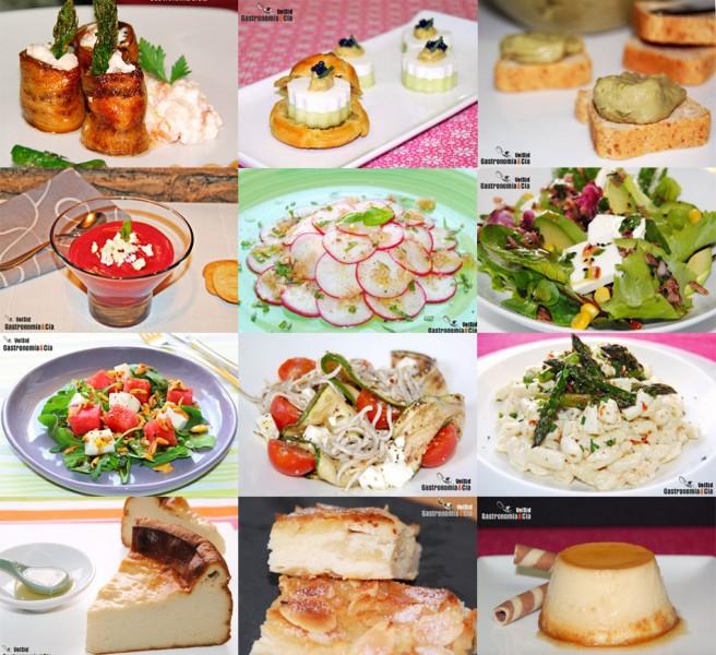 Recetas con queso de Burgos