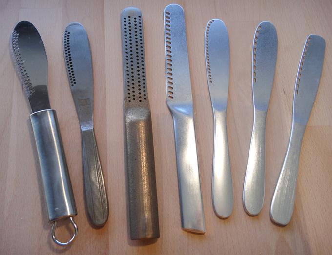 Cuchillo butterup para untar mantequilla dura for Cuchillo para untar mantequilla