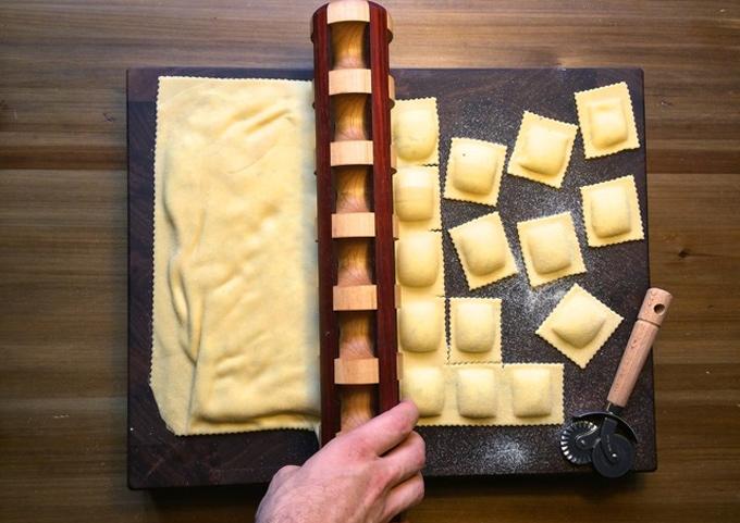 Rodillo para hacer raviolis | Gastronomía & Cía
