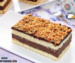 Hacer bizcocho para pastel de capas