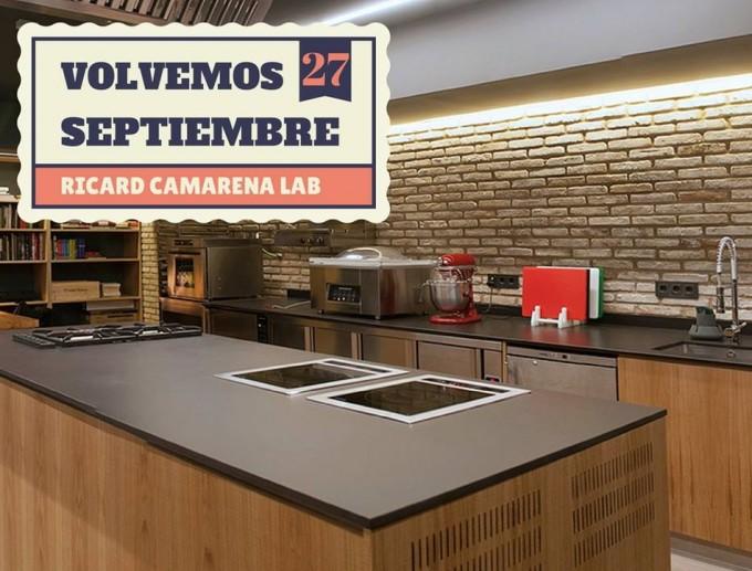Cursos de cocina de ricard camarena lab 2014 gastronom a for Clases cocina valencia