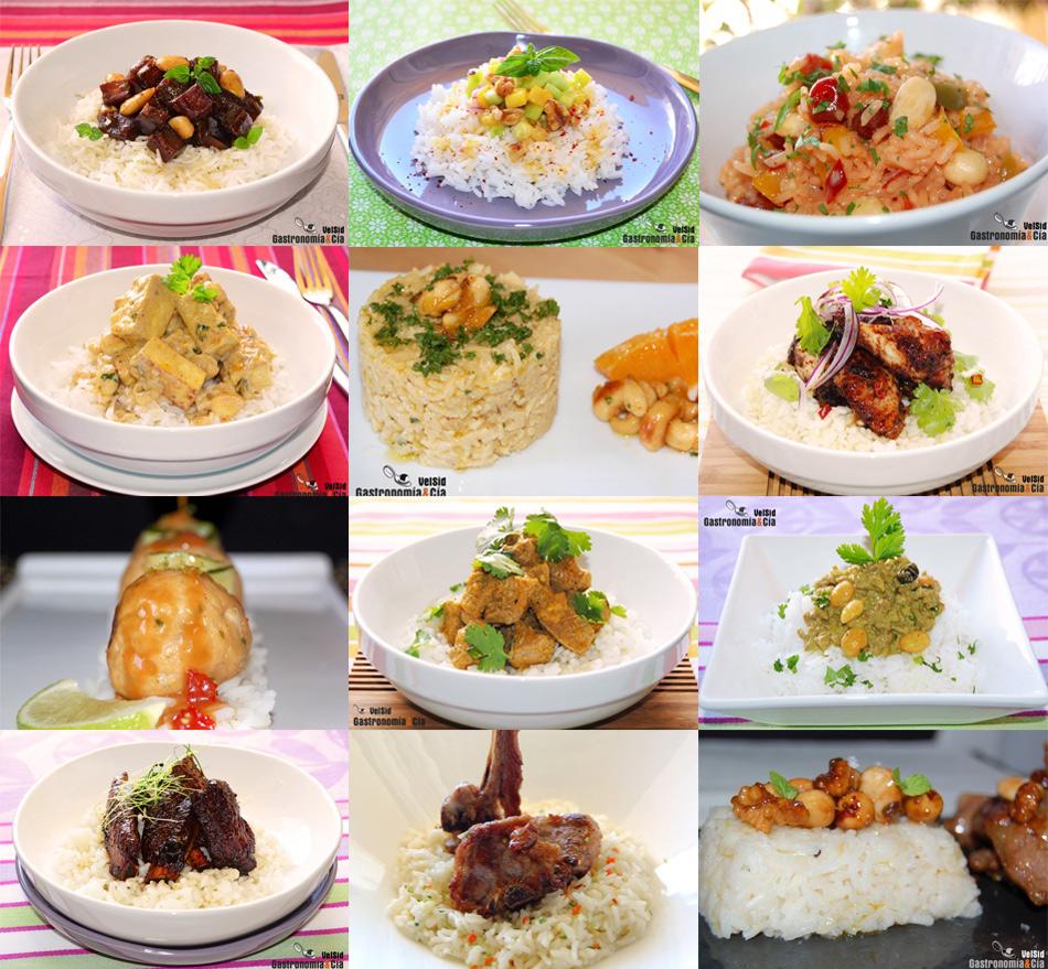Doce arroz - Comidas con arroz blanco ...
