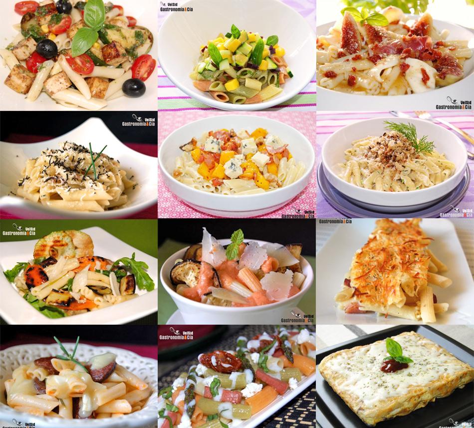 Doce recetas con macarrones