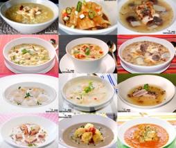 Recetas de sopa con pollo, pescado, tofu...