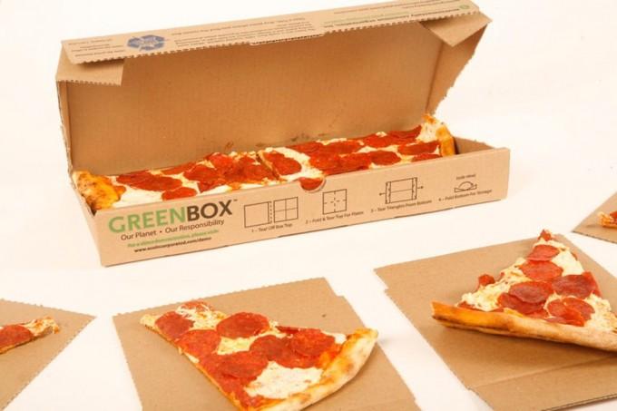 GreenBox, caja de pizza