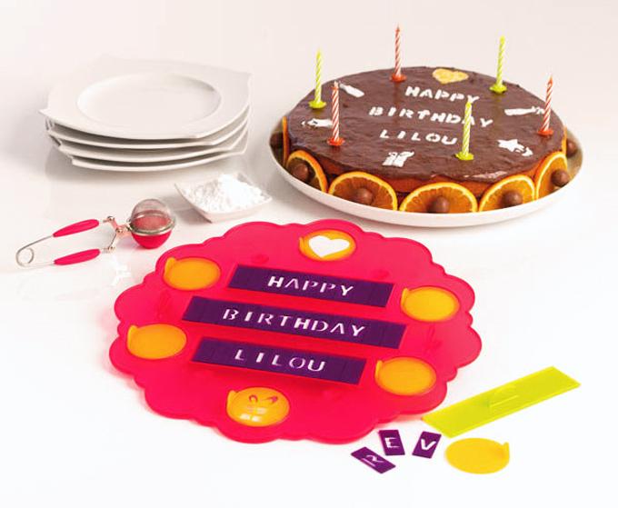 Plantilla para decorar pasteles personalizados | Gastronomía & Cía