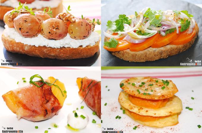 recetas tapas de otono