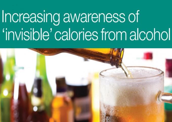 Calorías invisibles del alcohol