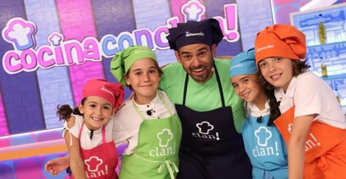 Programa de cocina para niños