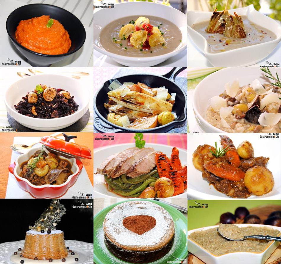 Doce Nuevas Recetas Con Castañas Dulces Y Saladas Gastronomía Cía