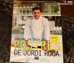 Libro de postres de Jordi Roca