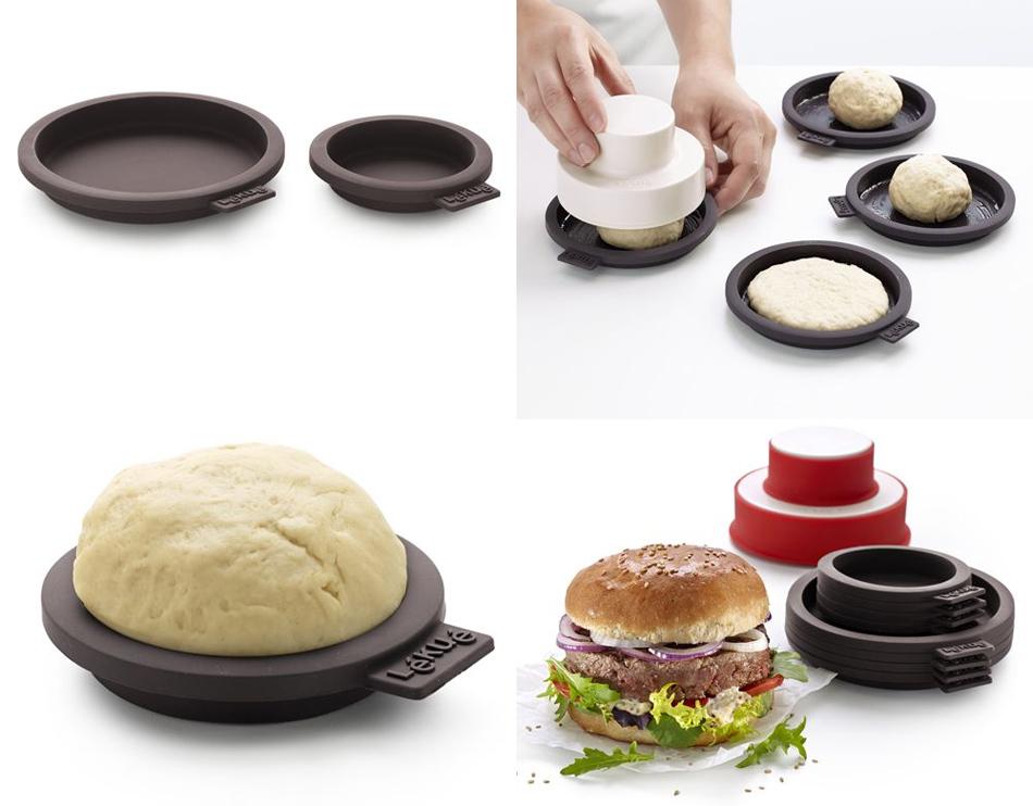 Molde para hacer pan de hamburguesas es necesario for Moldes de cocina