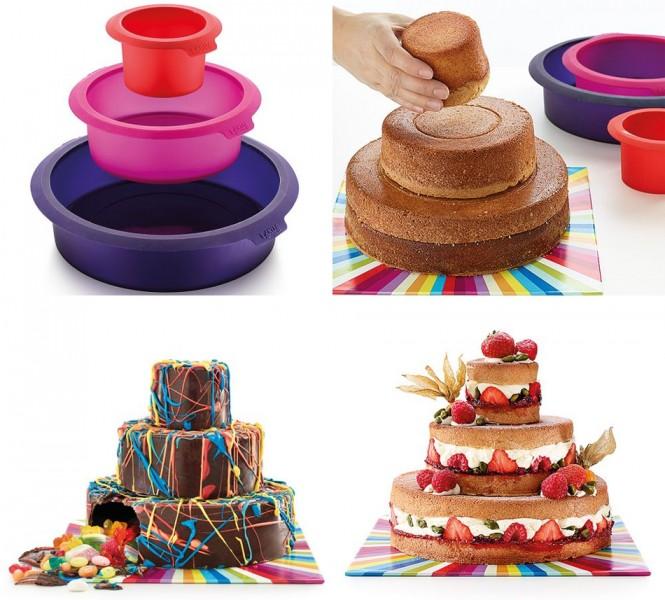Molde de silicona para pastel