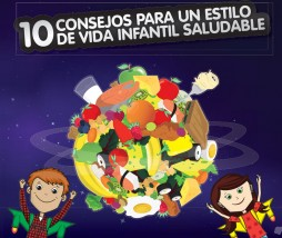 Decálogo para un estilo de vida infantil saludable